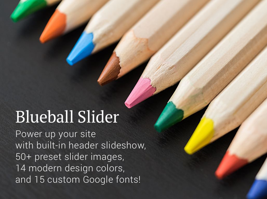 Add a slideshow to your header with the Blueball Slider Sandvox design!